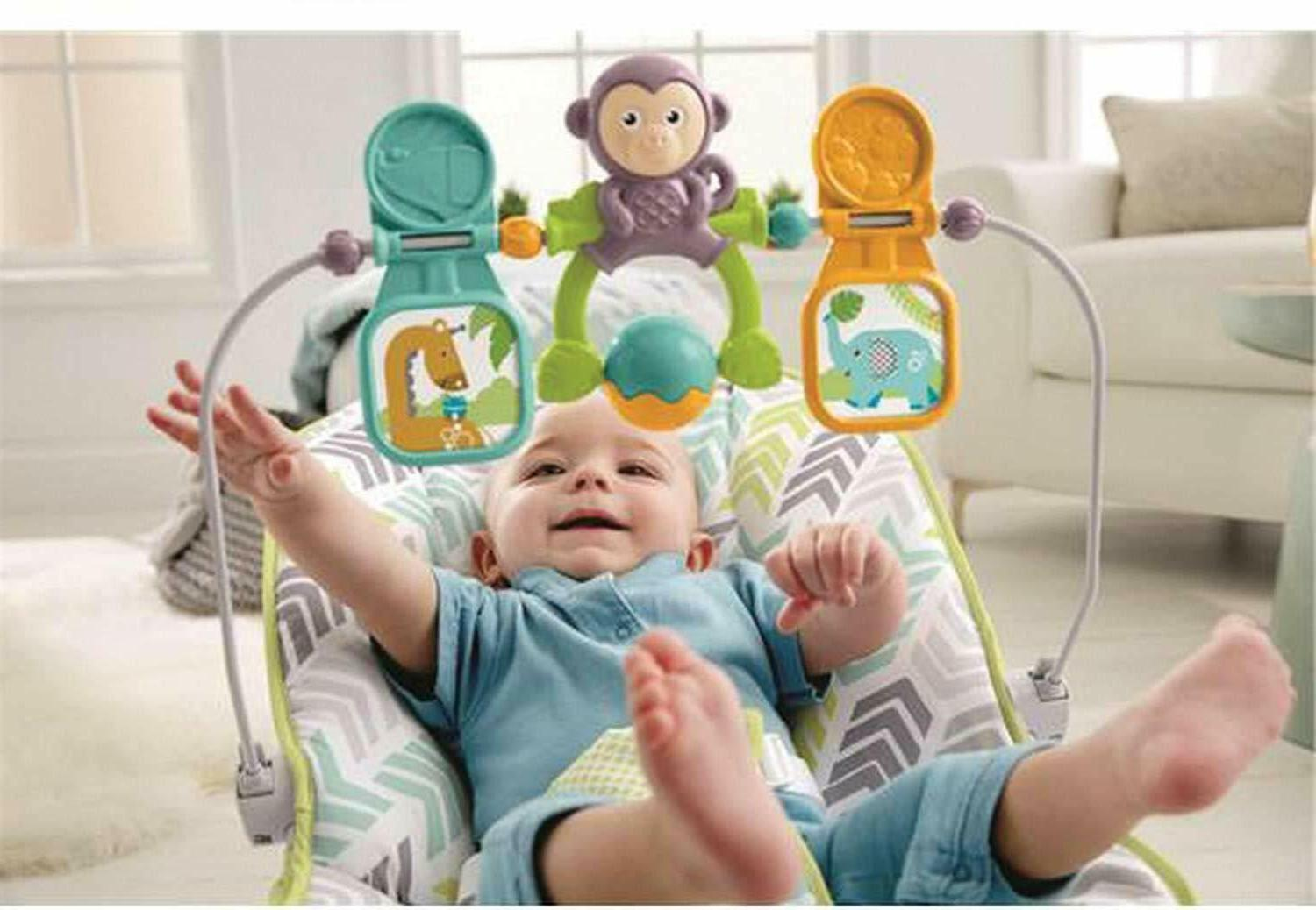 Fisher-Price Green/Blue/Grey