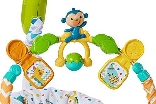 Fisher-Price Colourful SpaceSaver Jumperoo