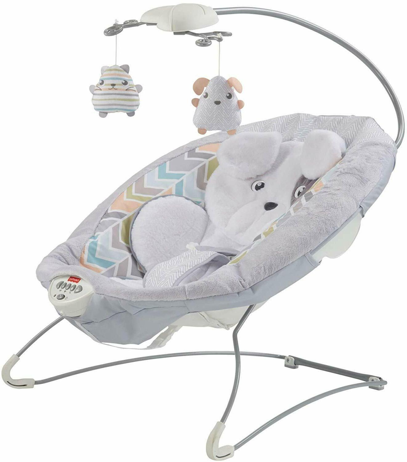 Fisher-Price Deluxe Bouncer Sweet Dreams Snugapuppy comfy se
