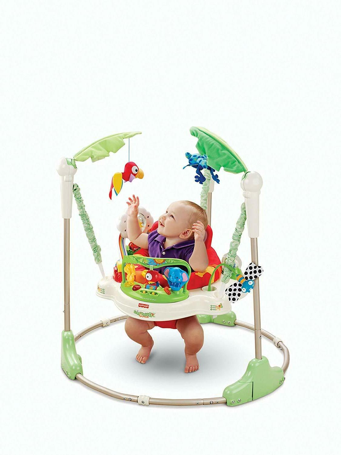 Fisher-Price Rainforest baby Bouncer Activity