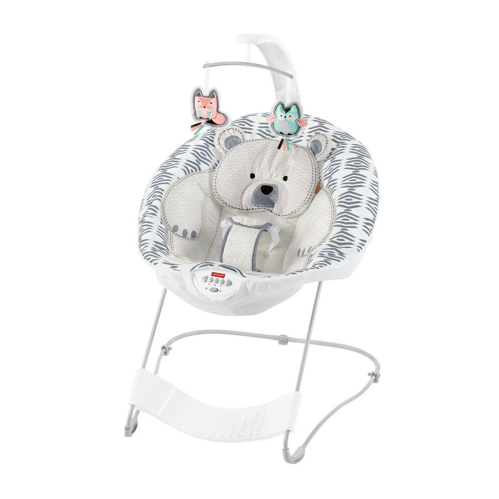Fisher-Price Soothe Deluxe Bouncer,