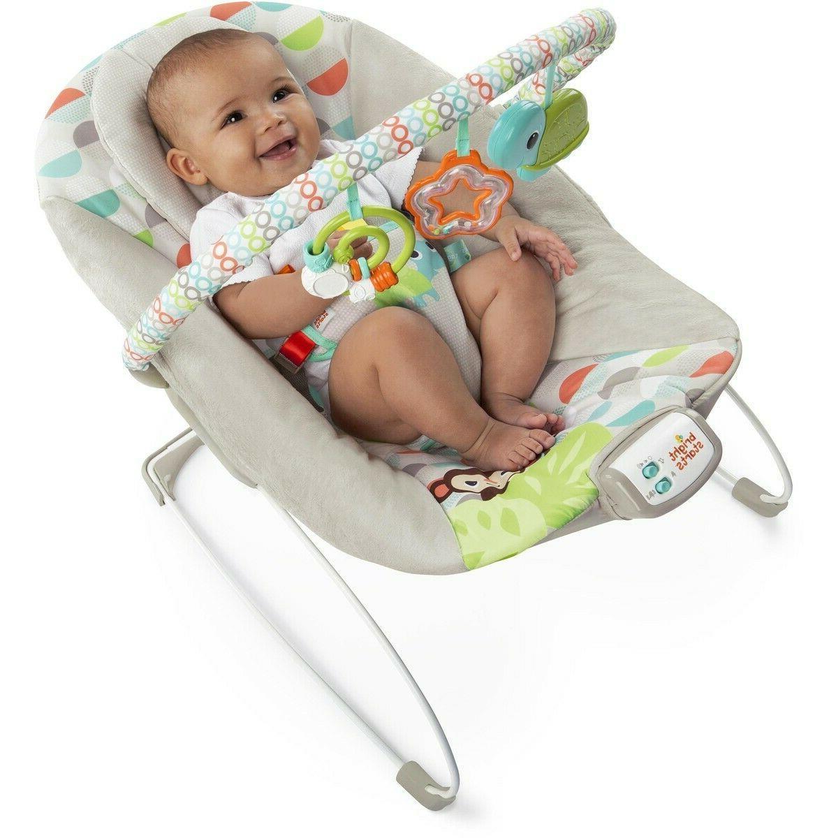 Bright Happy Safari Baby Bouncer