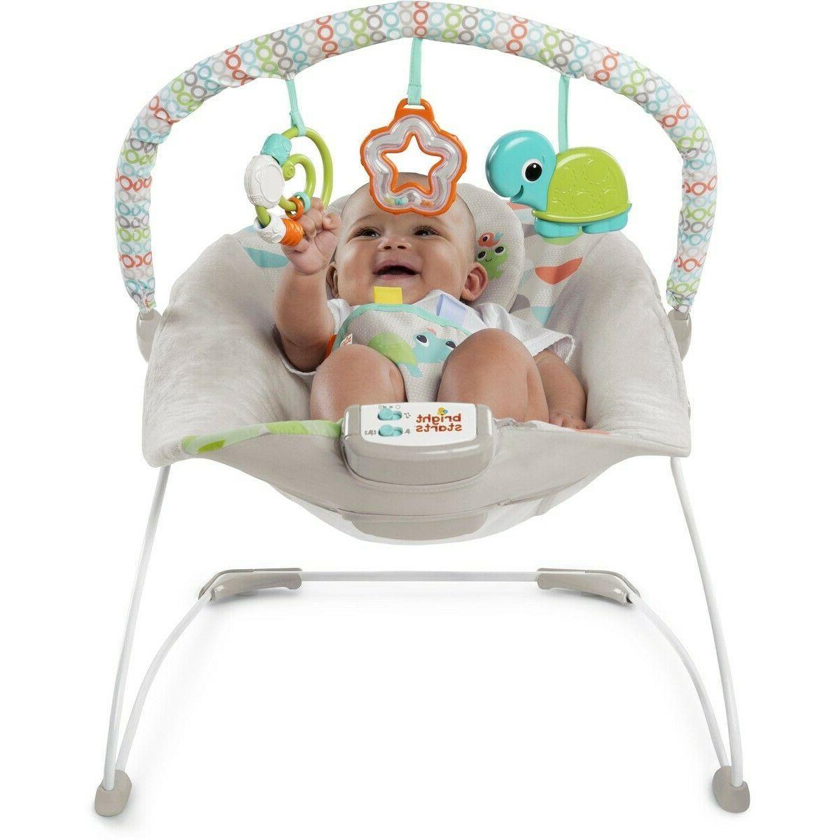 happy safari baby bouncer washable volume control