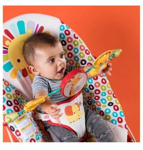 Bright Home Playful Pinwheels Toddler Vibrating Seat