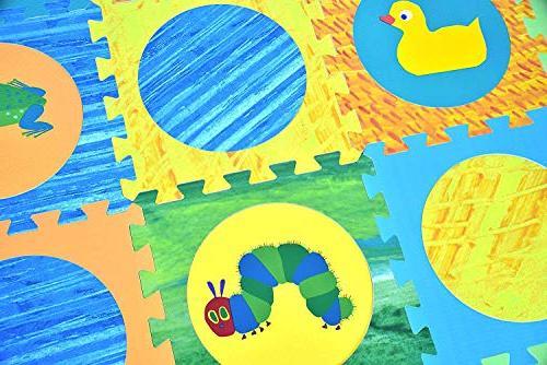 Hungry Baby Puzzle Mat, Foam Foam Floor Puzzle Mat, Foam Mat, Boy, Baby Playmat 65'' x