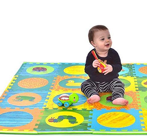 Hungry Caterpillar Baby Puzzle Mat, Play Mat, Foam Puzzle Foam & Boy, Play Baby Playmat 52''
