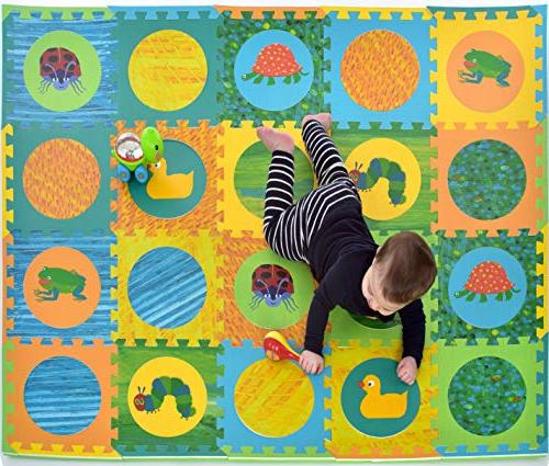 hungry caterpillar mat