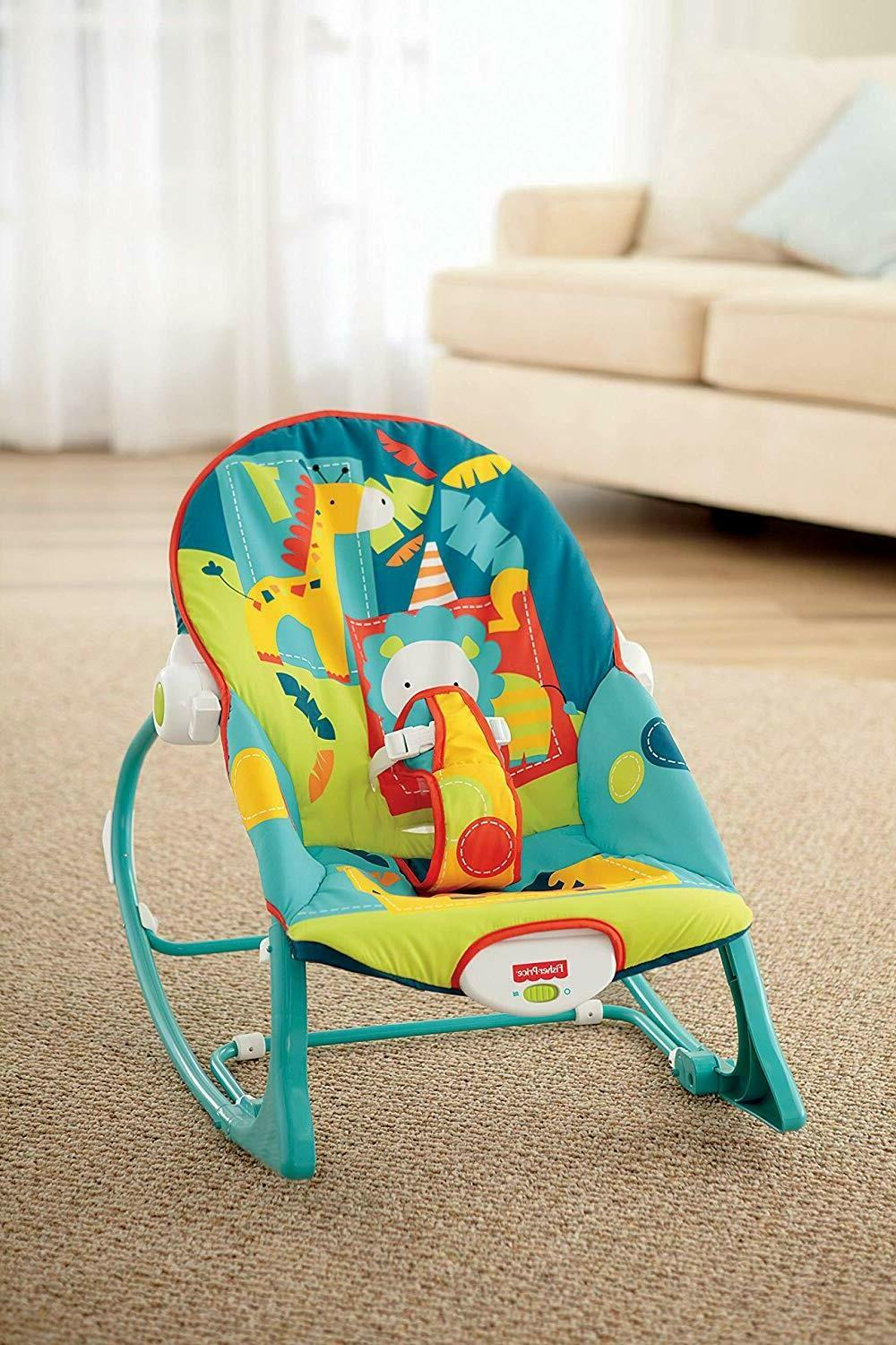 Infant Baby Toddler Rocker Mode Seat Bouncer Adjustable
