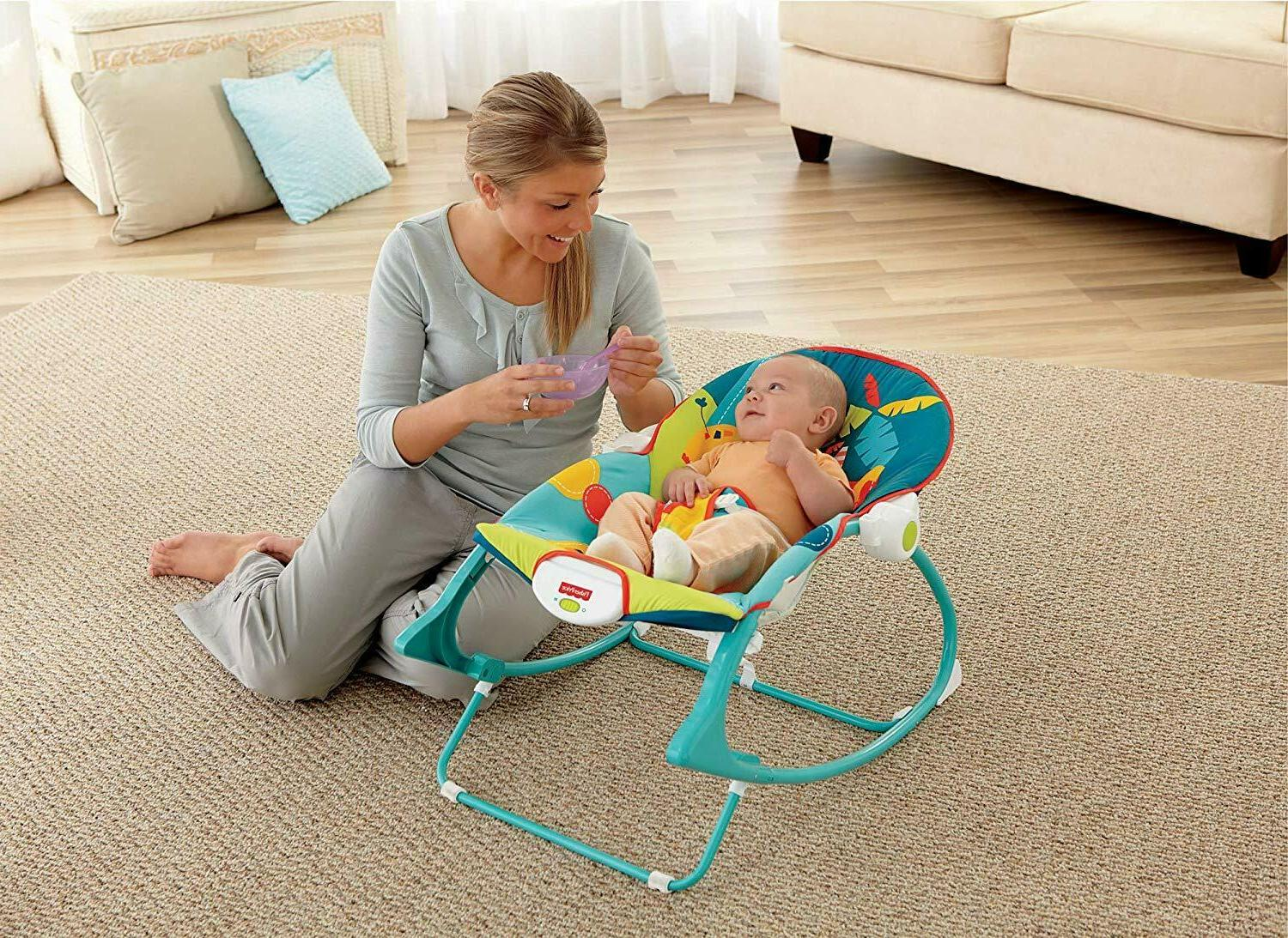 Infant Mode Seat Bouncer Chair Celebration
