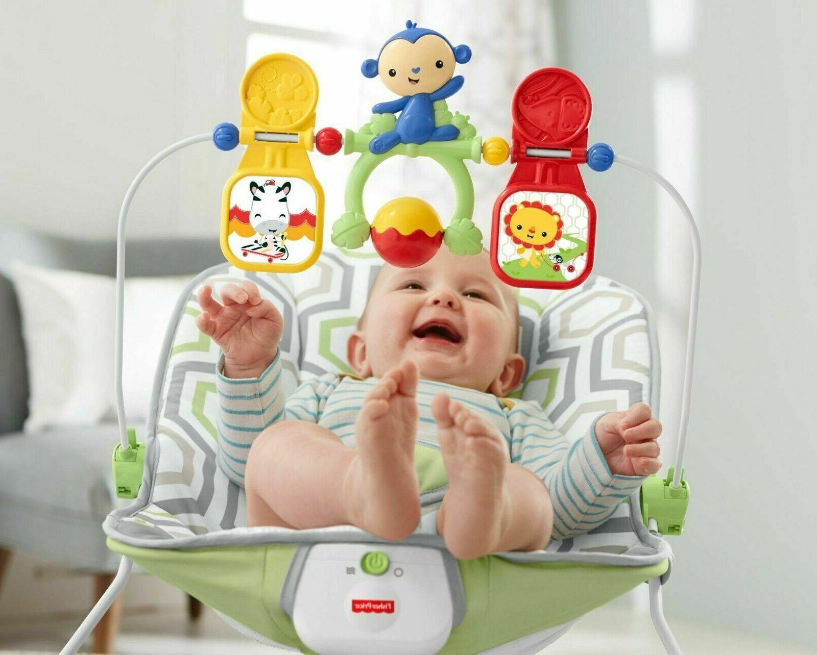 Infant to Toddler Rocker Baby Swing Portable Child