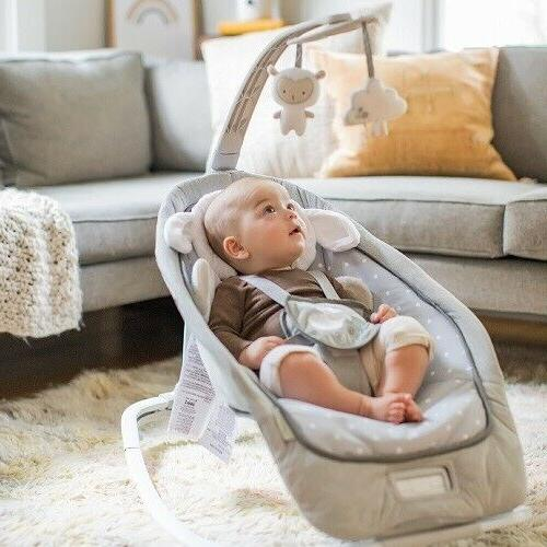 Infant Toddler Rocker Baby Swing Portable Seat Chair Sit