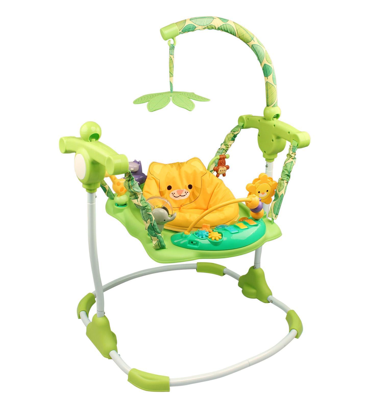 Kids Safari Jumper Toddler Exerciser Seat Fun Safe Play Baby
