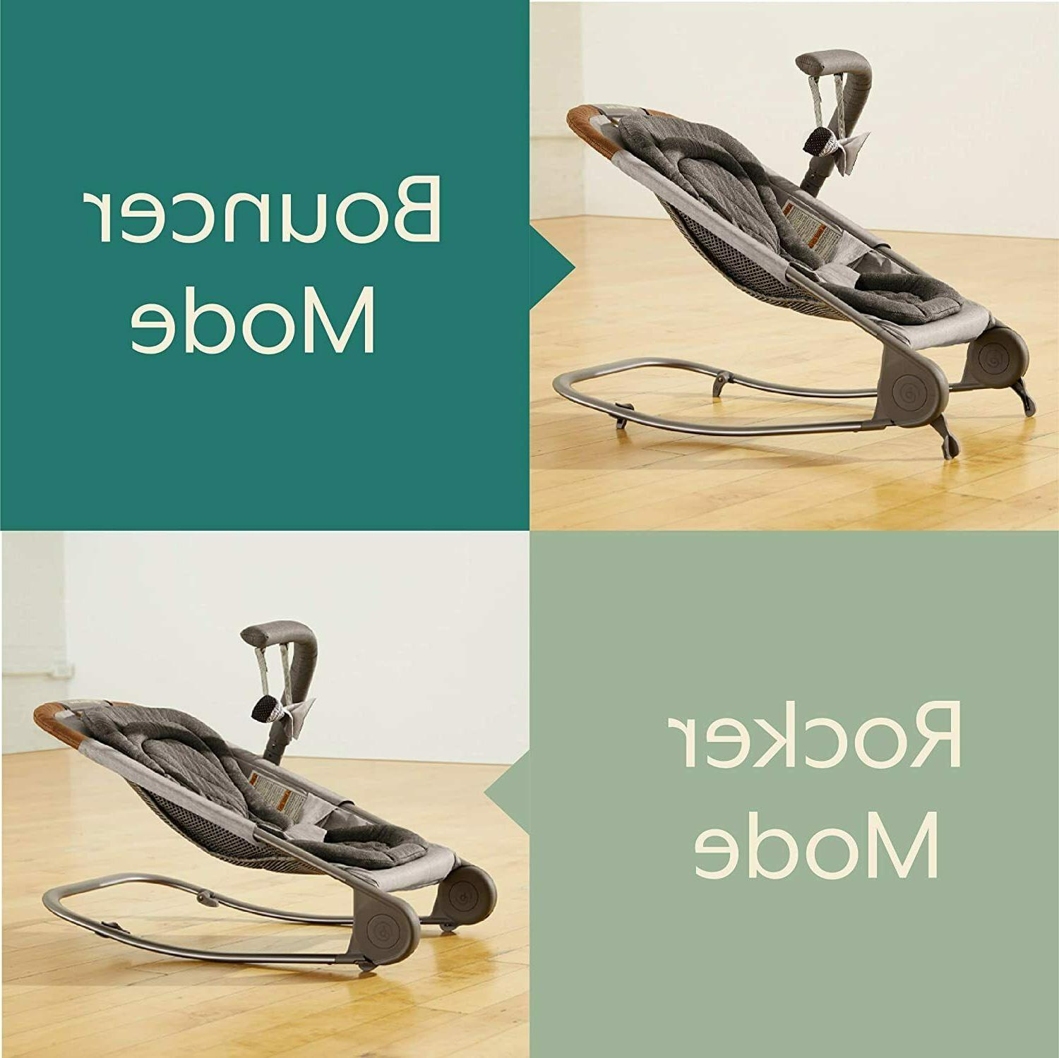 born Bouncer Baby Rocker Modes Compact Fold Easy