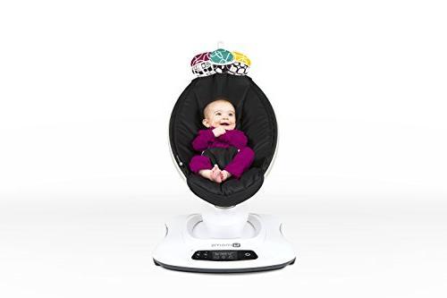 4moms mamaRoo high-tech Baby Swing – Classic Nylon Fabric 5