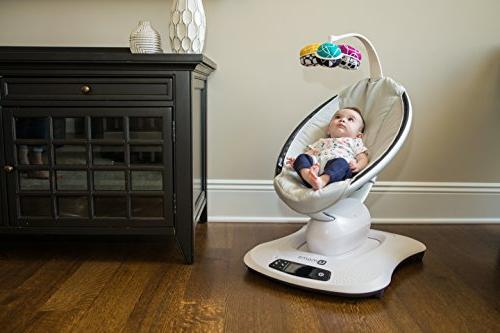 4moms mamaRoo high-tech Baby Classic Fabric 5 Unique motions