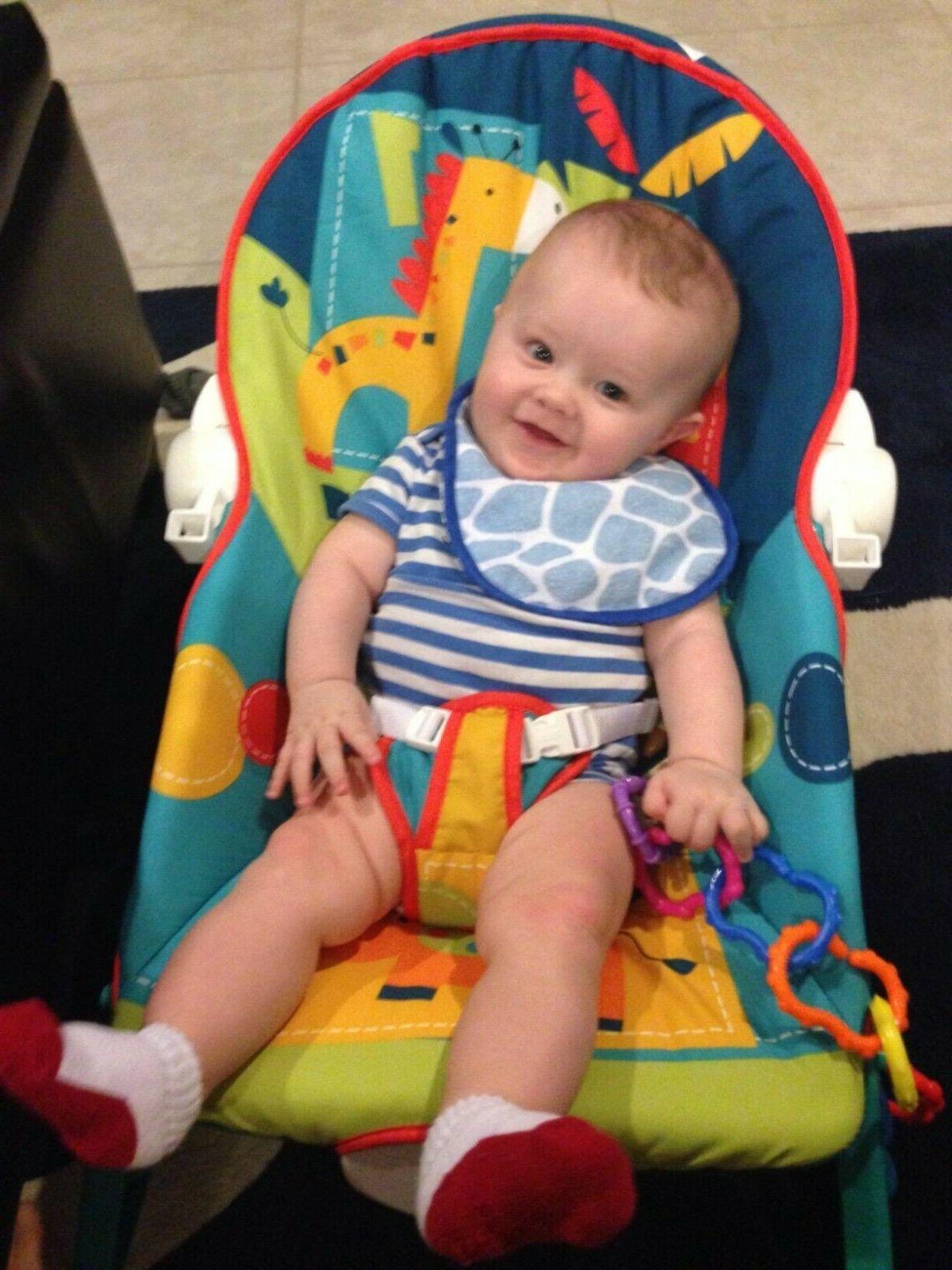 Baby Boy Bouncer Rocker Chair Toddler