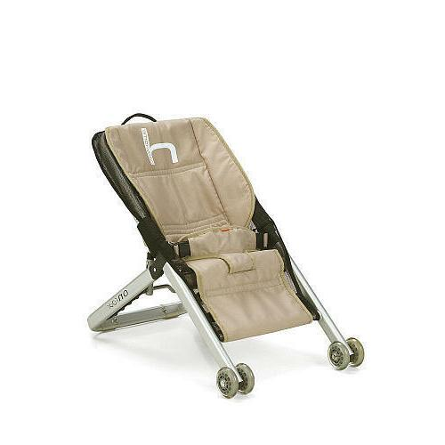 Brand New Babyhome Onfour Babysitter Bouncer - SAND    Manuf