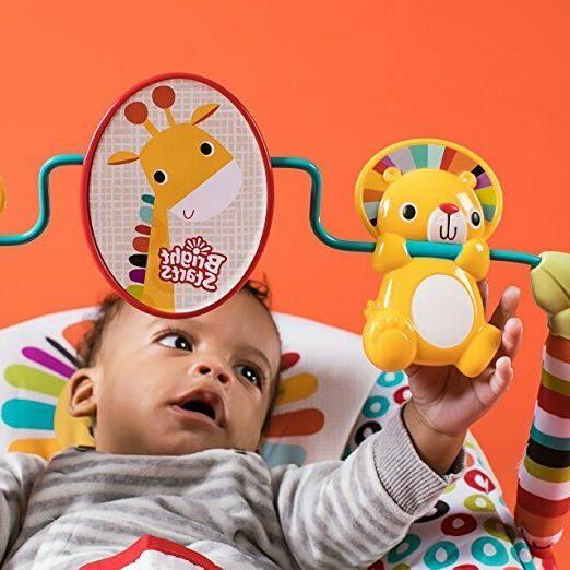 Bright Starts baby infant seat vibrating