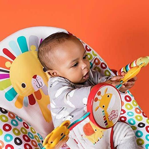 Bright baby seat vibrating chair