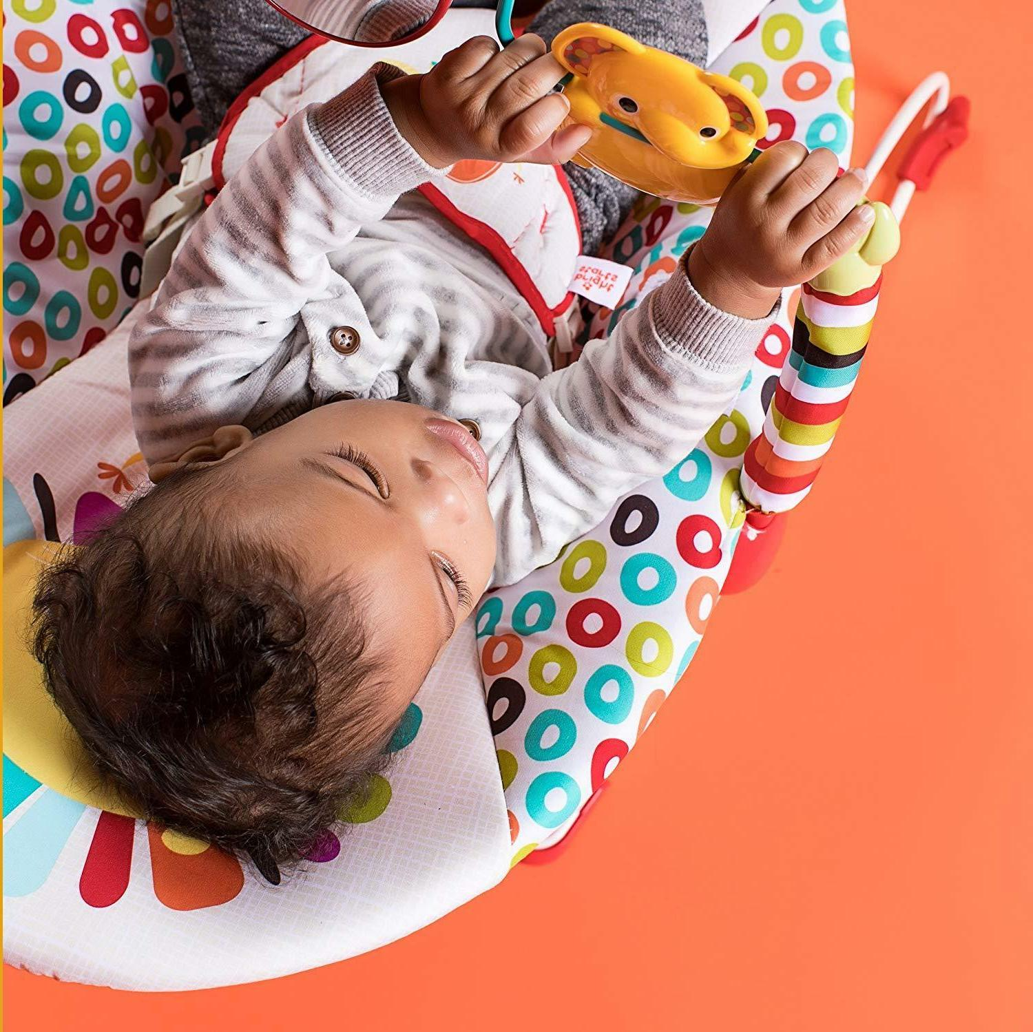 Bright Bouncer Baby Seat up to 20 Pounds, Ship