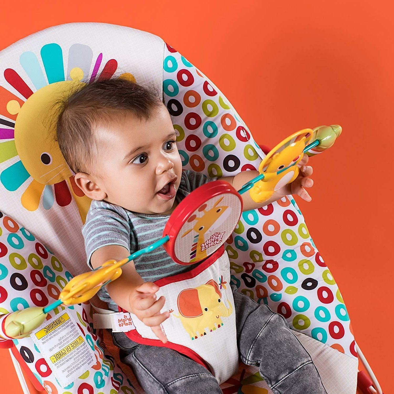 playful pinwheels bouncer baby seat up to