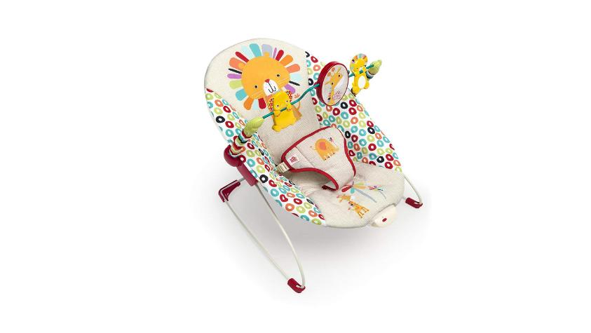 playful pinwheels bouncer toy baby bright seat