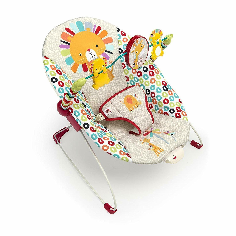 playful pinwheels bouncer with vibrating seat