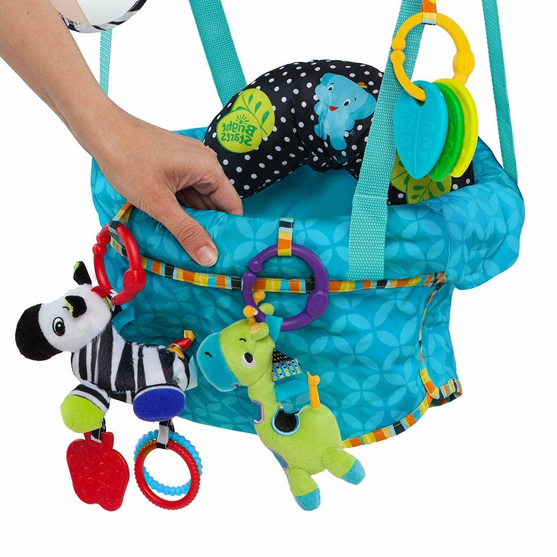 portable baby doorway bouncer play activity swing