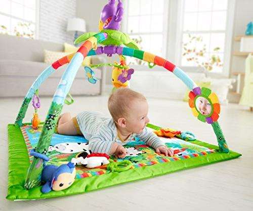 Fisher-Price Rainforest Music Lights Gym