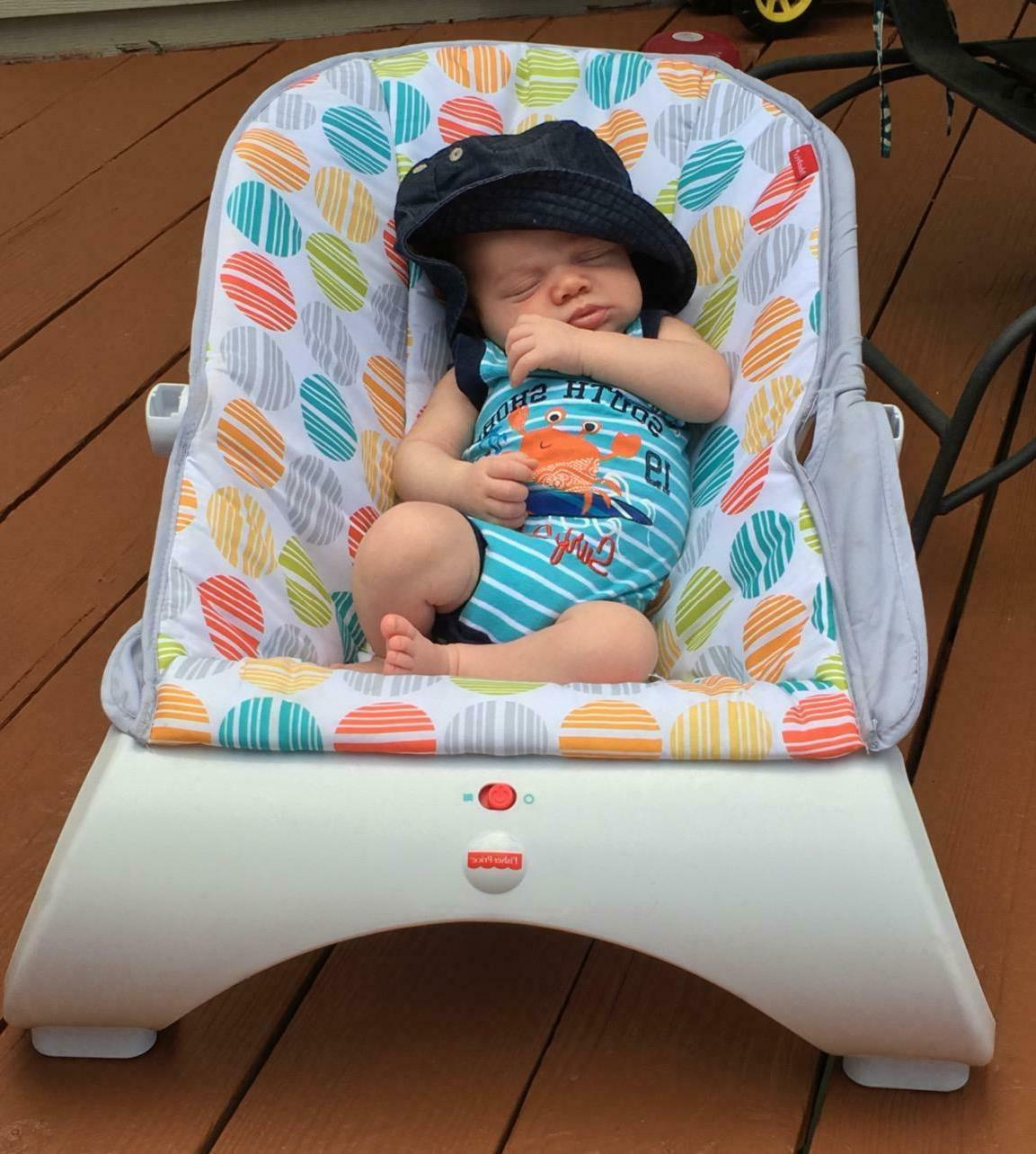 Baby With Rocker Seat Infant