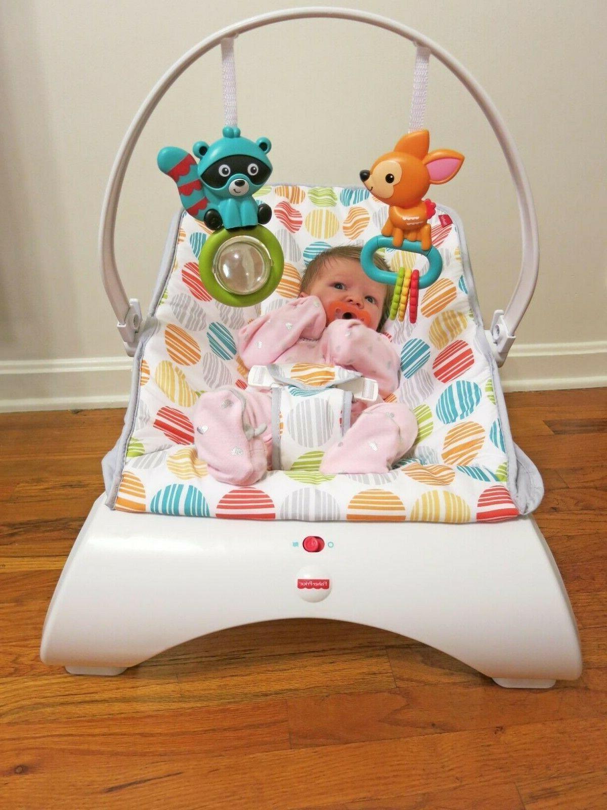 Baby Rocker Chair Boy Seat Newborn Infant Toddler