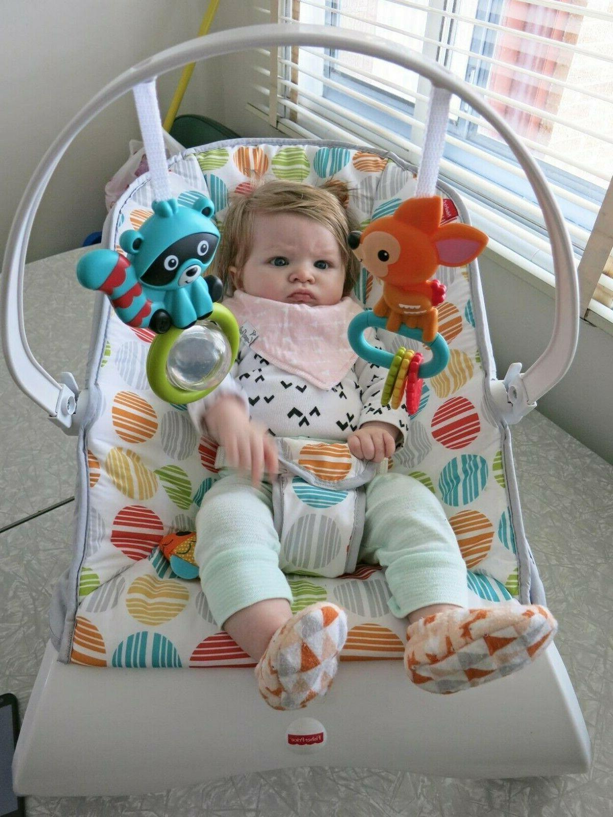 Baby Bouncer With Vibration Rocker Chair Boy Girl