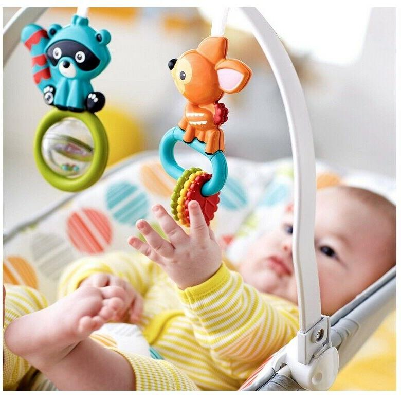 Baby Bouncer With Vibration Rocker Chair Girl Seat