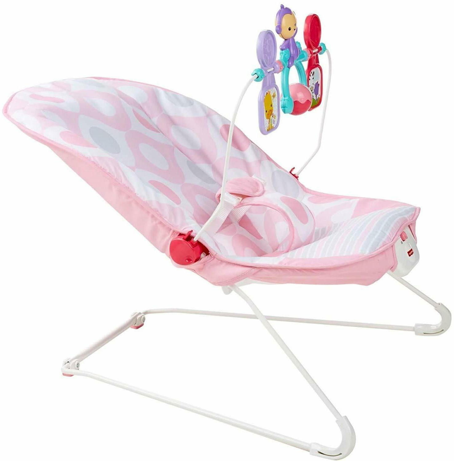 Chair Pink Infant Vibration