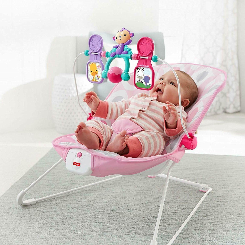 Fisher-Price Pink Ellipse Baby Toy 3DAYSHIP