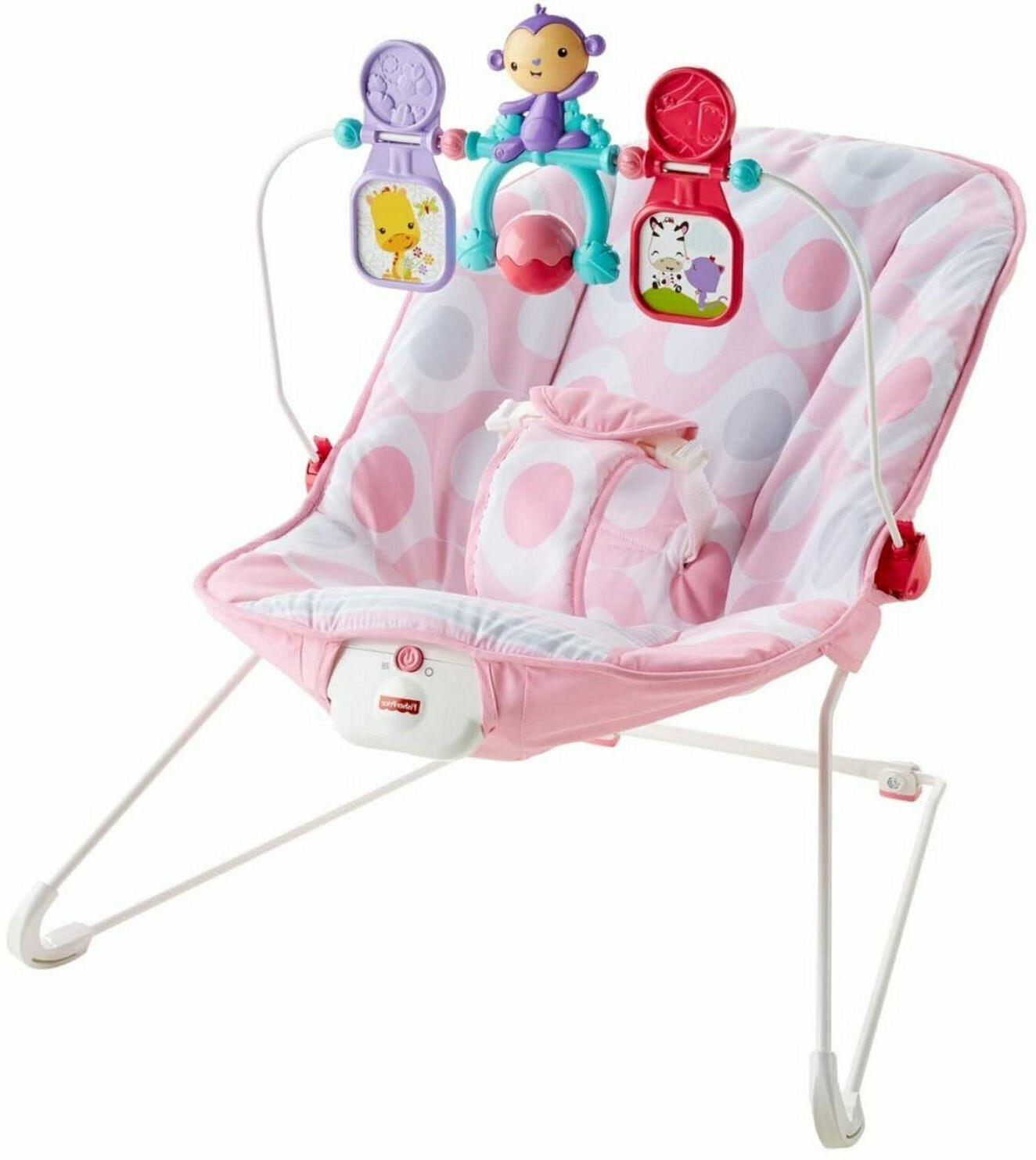 Bouncy Seat Fisher-Price Deluxe Bouncer Soft Padded Washable