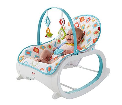 Rocker Vibrating Chair Infant Toddler Fisher New Toy