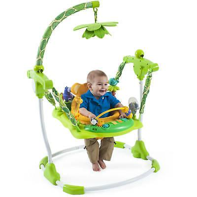 Creative Baby Jumper Bouncer Activity Seat Safari Theme FREE