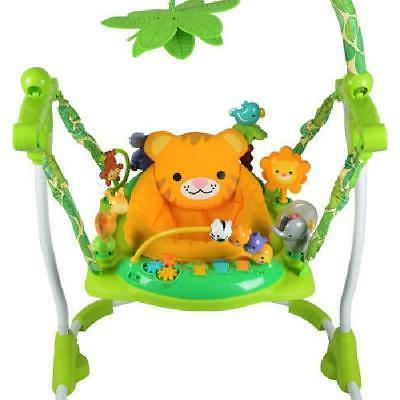 Kids Safari Jumper Exerciser Fun Toy