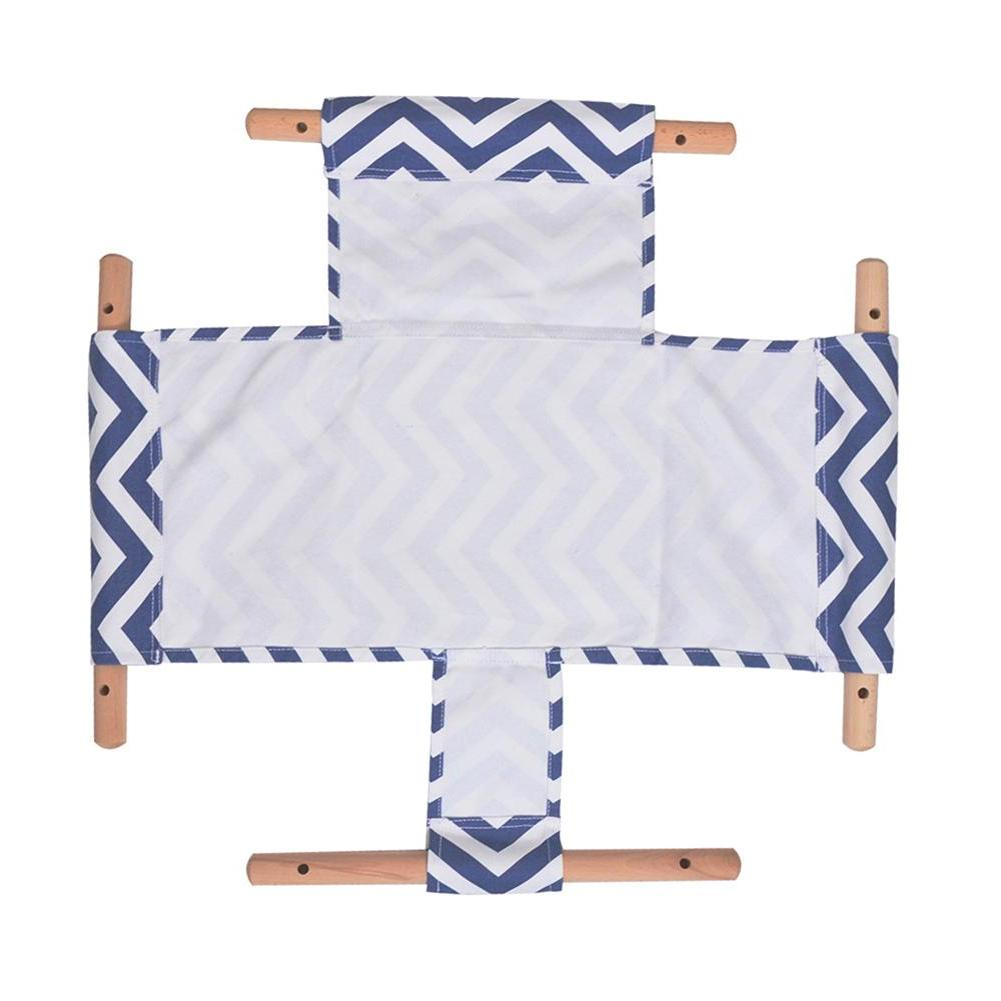 Safety Kindergarten <font><b>Baby</b></font> Canvas Swing Chair Indoor Swinging Basket Rocking