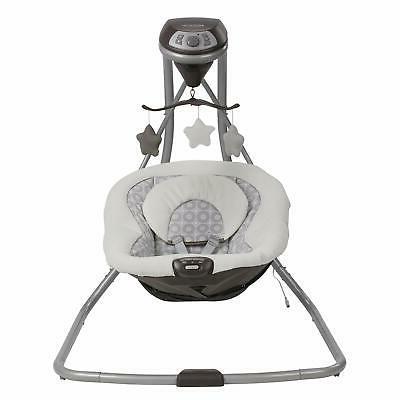 Graco Simple Swing 2 Speeds seat Abbington Xams