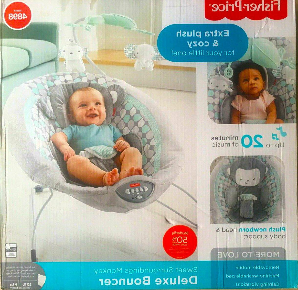 Fisher-Price Deluxe Newborn Vibrating Rock n' Play Sleeper,