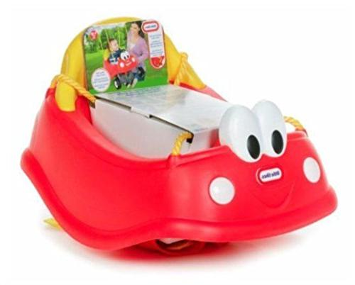Unbranded Red Car Baby Seat Outdoor Toys
