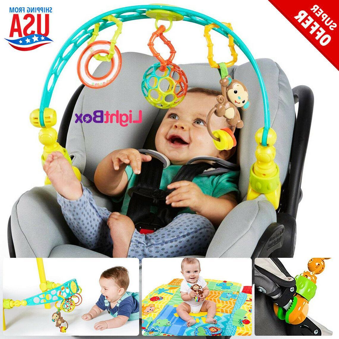 Toy Crib Activity Travel Rock Play NEW