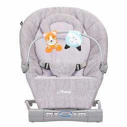 Evenflo Lyric Musical Bouncer, Grey Melange