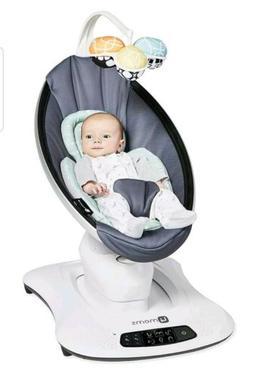 4Moms Mamaroo 4 Infant Reclining Seat Rocker Bouncer Swing 2