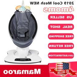4Moms Mamaroo 4 Infant Reclining Seat Rocker Bouncer bluetoo