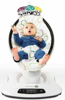 4Moms Mamaroo 4 Infant Reclining Seat Rocker Bouncer Swing M