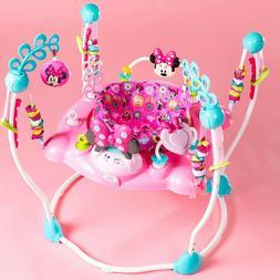Disney Minnie Baby Infant Toddler Newborn Girl Jumper Bounce