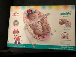 Bright Starts Minnie Mouse Perfect In Pink Vibrating Bouncer